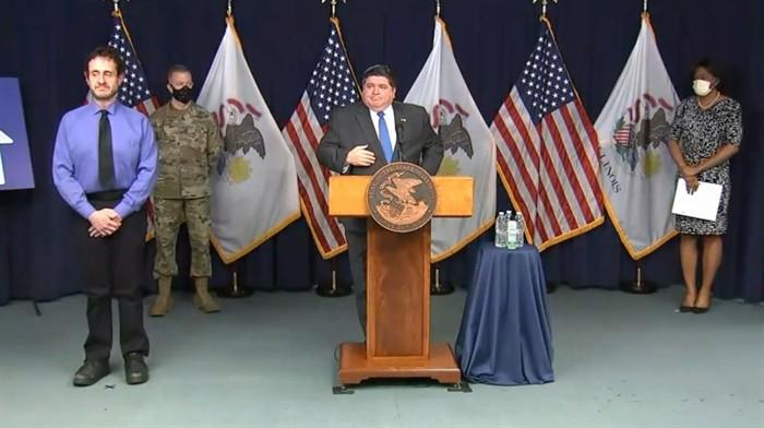 Illinois Representative addresses his lawsuit against Gov. JB Pritzker